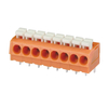 Screwless terminal blocks Push-button 0.2-2.5 mm² Pin spacing 5.00 mm 8-pole PCB Connector