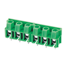 Euro terminal blocks Spring type 2.5mm² Pin spacing 7.50mm 6-pole PCB connector