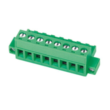 Pluggable terminal block Plug in 2.5mm² Pin spacing 5.08 mm 8-pole Female connector
