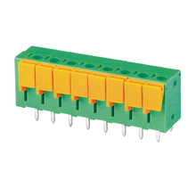Screwless terminal blocks Push-button 1.5 mm² Pin spacing 7.50/7.62 mm 8-pole PCB Connector