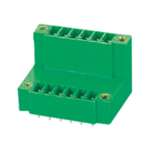 Pluggable terminal block R/A Header Pin spacing 3.50/3.81 mm 6-pole Male connector