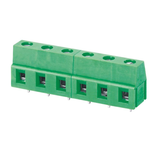 Euro terminal blocks Rising/Lift type 2.5mm² Pin spacing 5.00/7.50mm 6-pole PCB connector