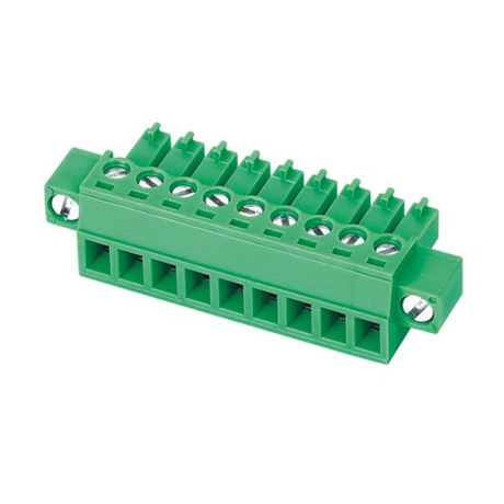 Pluggable terminal block Plug in 0.5-1.5mm² Pin spacing 3.5/3.81 mm 4-pole Female connector