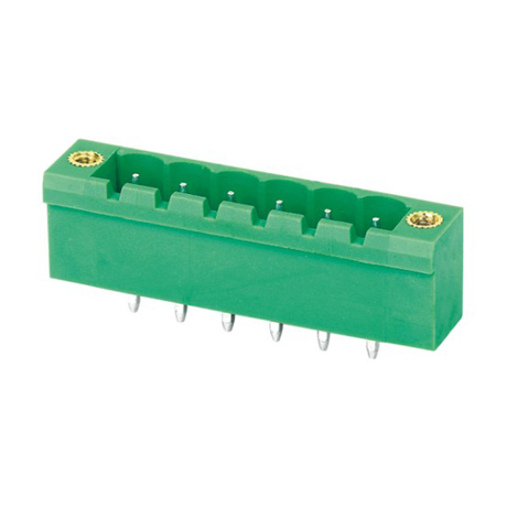 Pluggable terminal block Straight Header Pin spacing 5.00/5.08 mm 6-pole Male connector