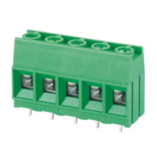 Euro terminal blocks Rising/Lift type 16.0mm² Pin spacing 10.16mm 5-pole PCB connector