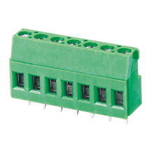 Euro terminal blocks Rising/Lift type 4.0mm² Pin spacing 5.00/5.08mm 7-pole PCB connector