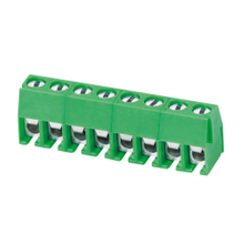 Euro terminal blocks Spring typ 1.0mm² Pin spacing 3.50 mm 8-pole PCB connector