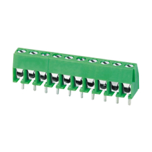 Euro terminal blocks Spring type 1.0mm² Pin spacing 3.50 mm 10-pole PCB connector