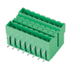 Pluggable terminal block R/A Header Pin spacing 5.00/5.08 mm 2*8-pole Male connector